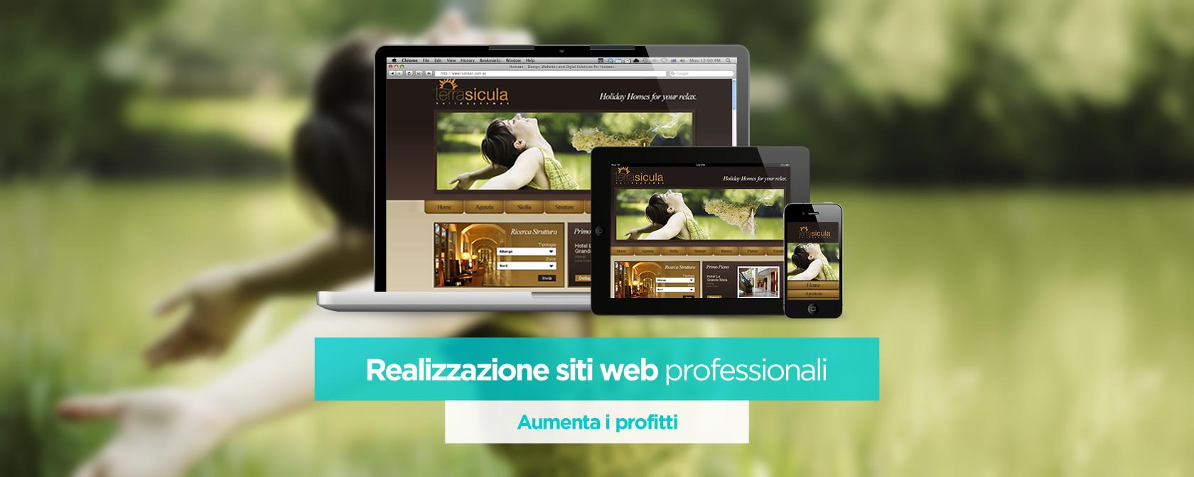 Web design freelance roma bari realizzazione siti web for Siti web di home plan